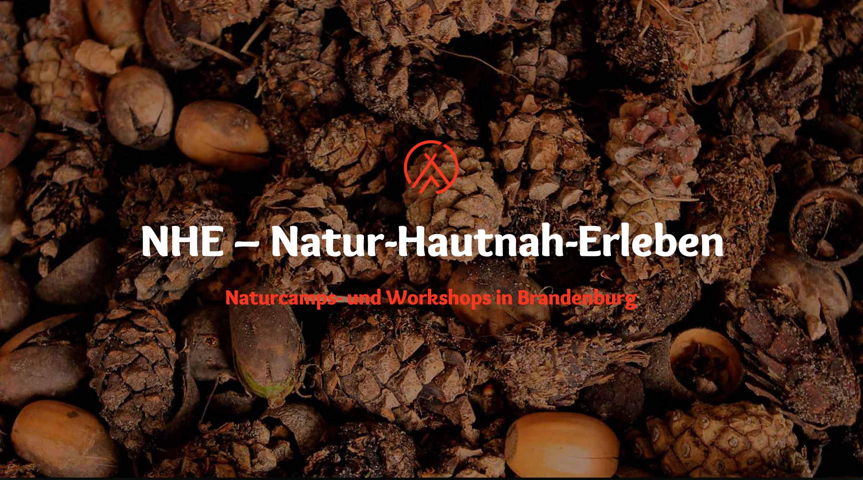 NHE – Natur-Hautnah-Erleben – Wildnis- und Naturcamps im Fläming.